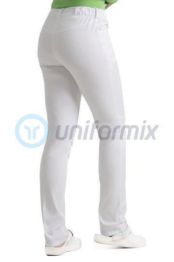 818daee05 Dámské zdravotní kalhoty Uniformix. UN1211-STRETCH biały ...